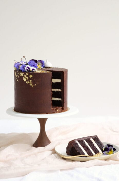 Chocolate Ganache Cake Cove Cake Design
