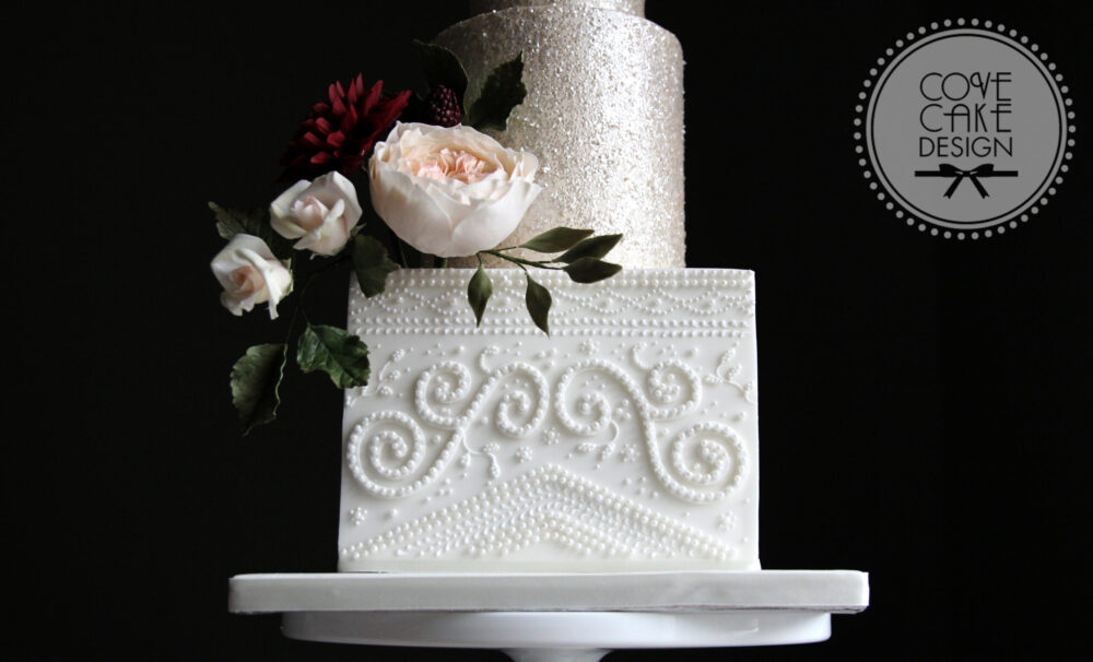 Bridal Detail Wedding Cake Cove Cake Design