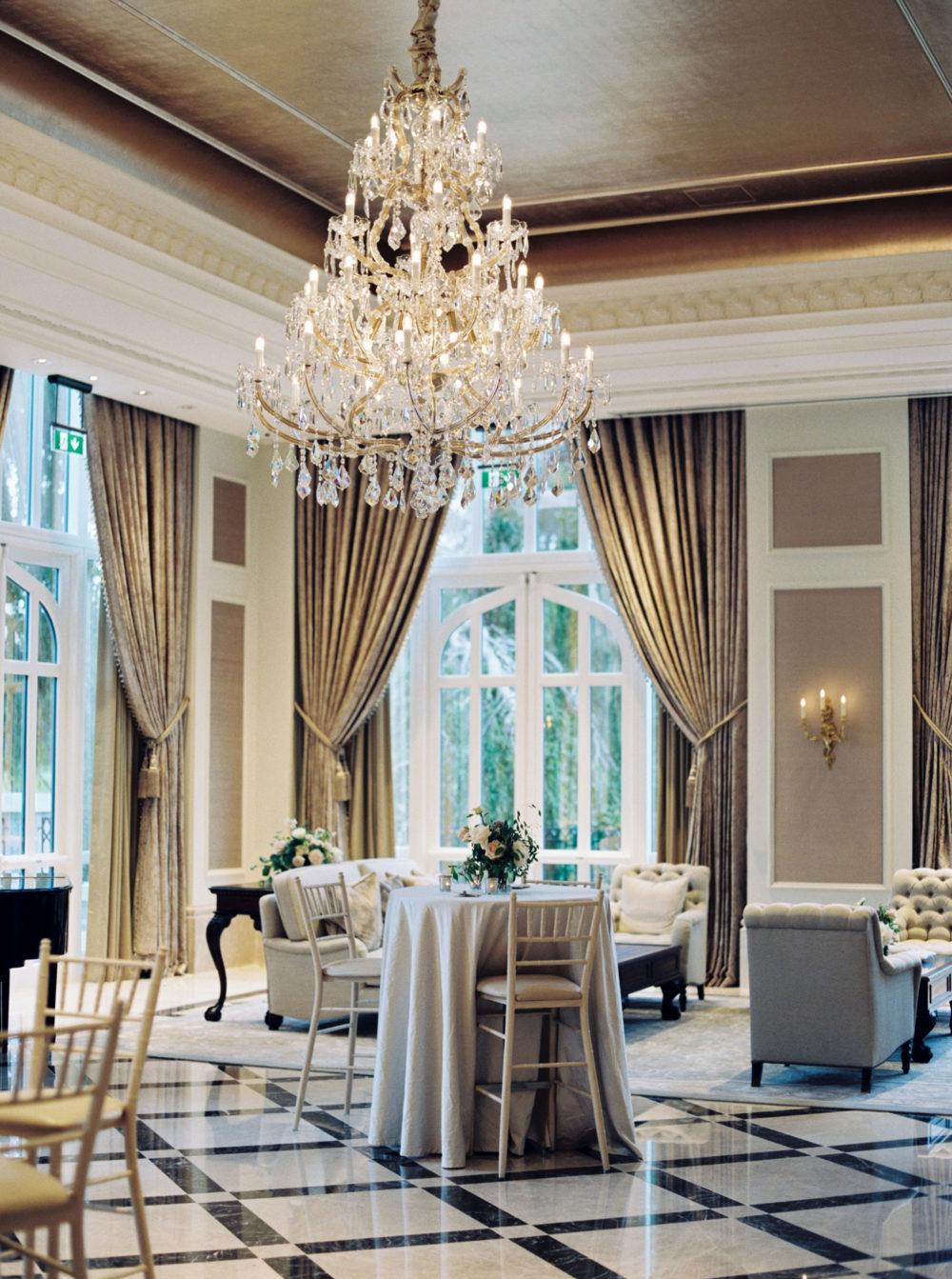 Adare Manor Wedding Reception