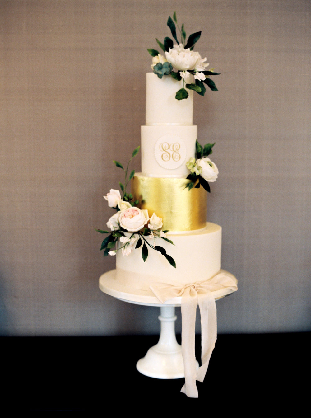 Luxurious wedding cake Cove Cake Design