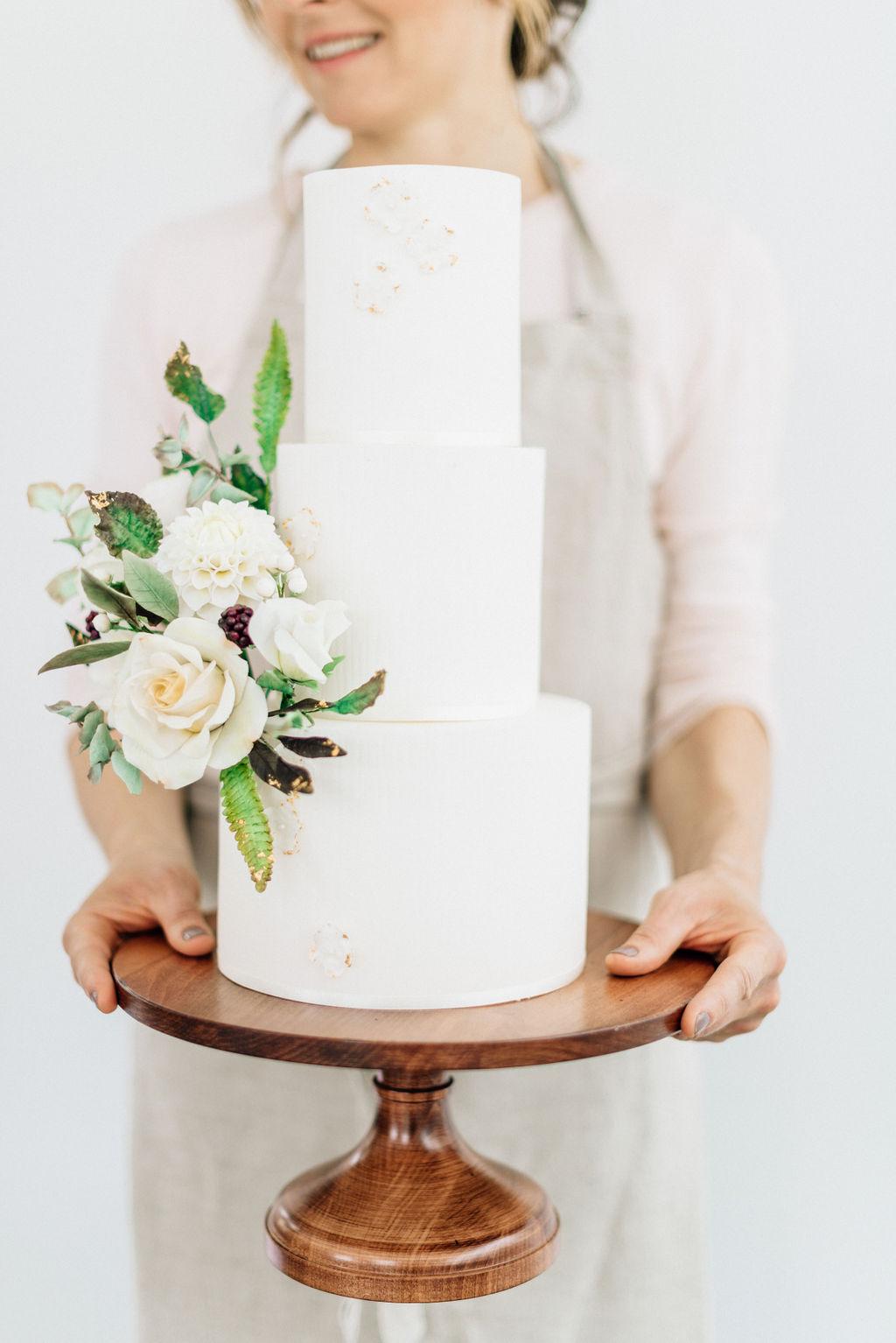 Suzanne Brady wedding cakes