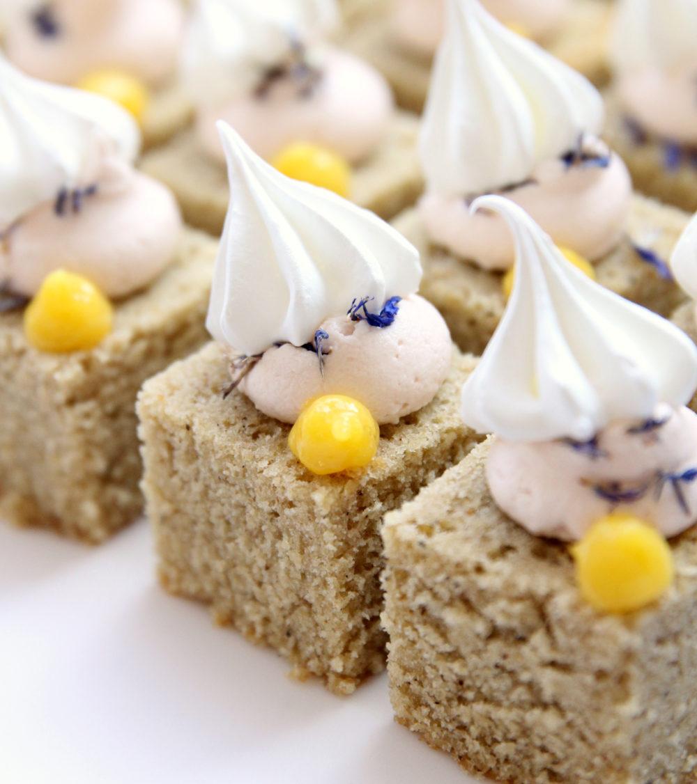 Mini cake bites Cove Cake Design