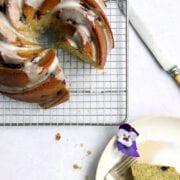 Lime Basil Blackberry Bundt Cake Recipe Cove Cake Design