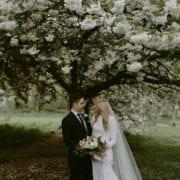 Elegant Real Weddings Cove Cake Design