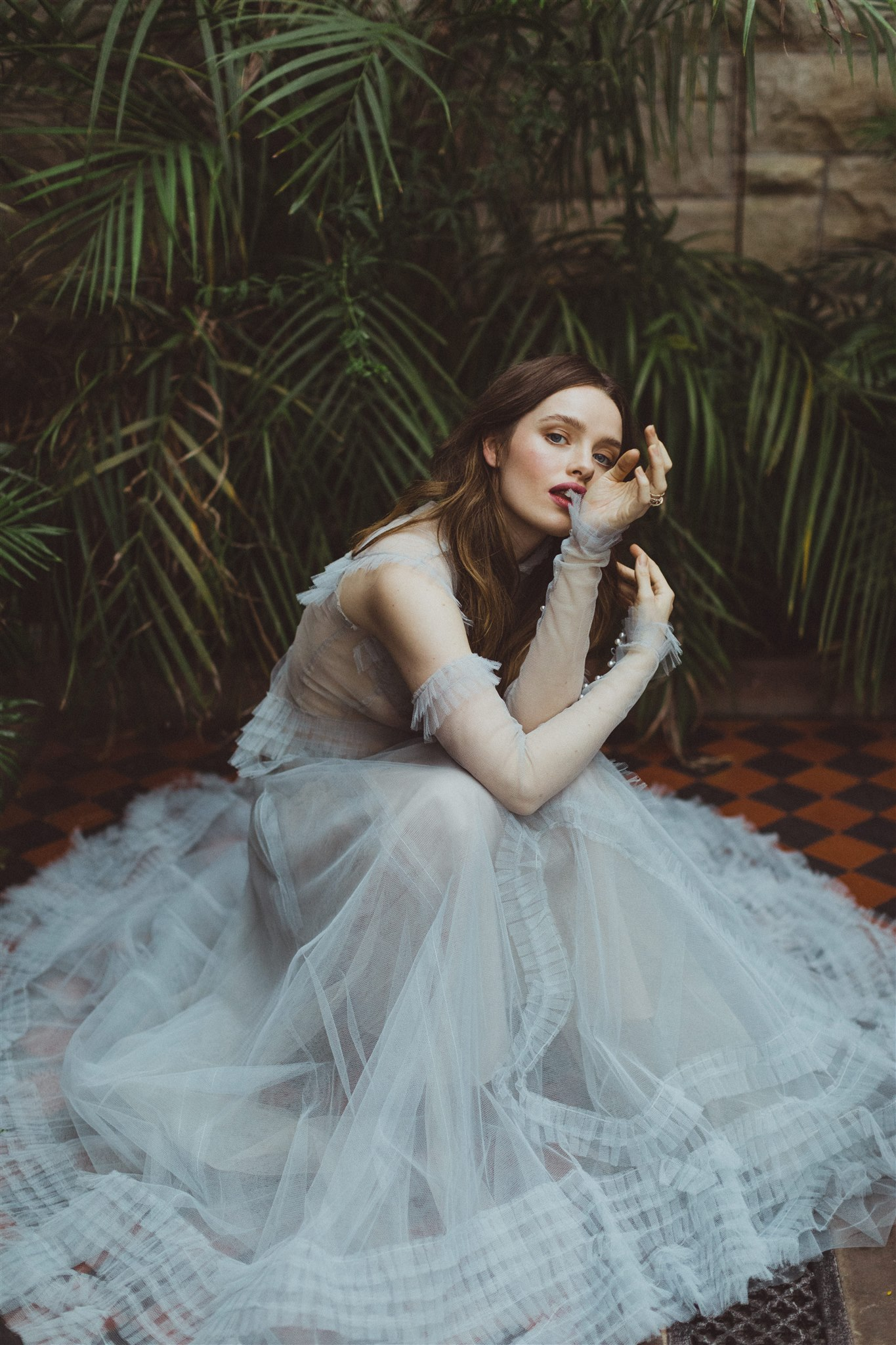 Ethereal bridal style
