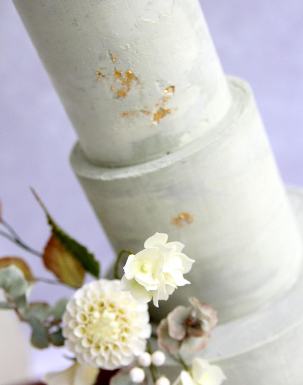 Marble ganache cake Cove Cake Design
