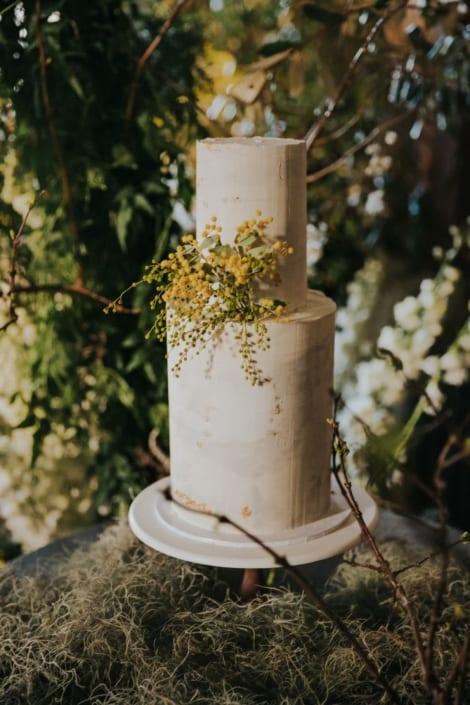 Concrete Ganache Cake