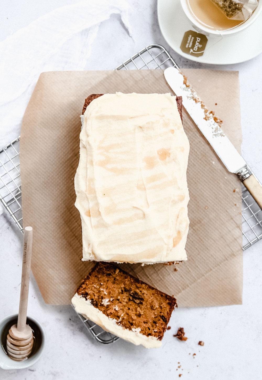 Carrot Cardamom Loaf Cake