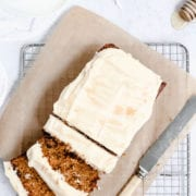 Carrot Cardamom Loaf Cake Recipe Cove Cake Design