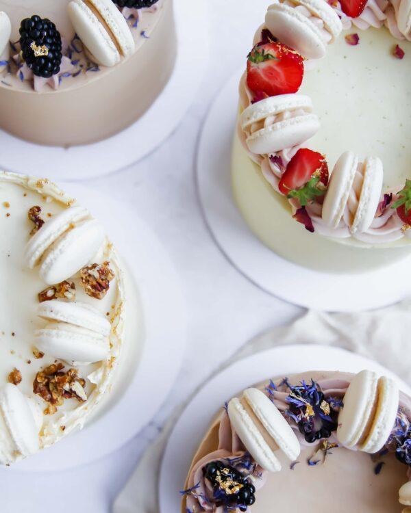 Macaron Cake Cove Cake Design