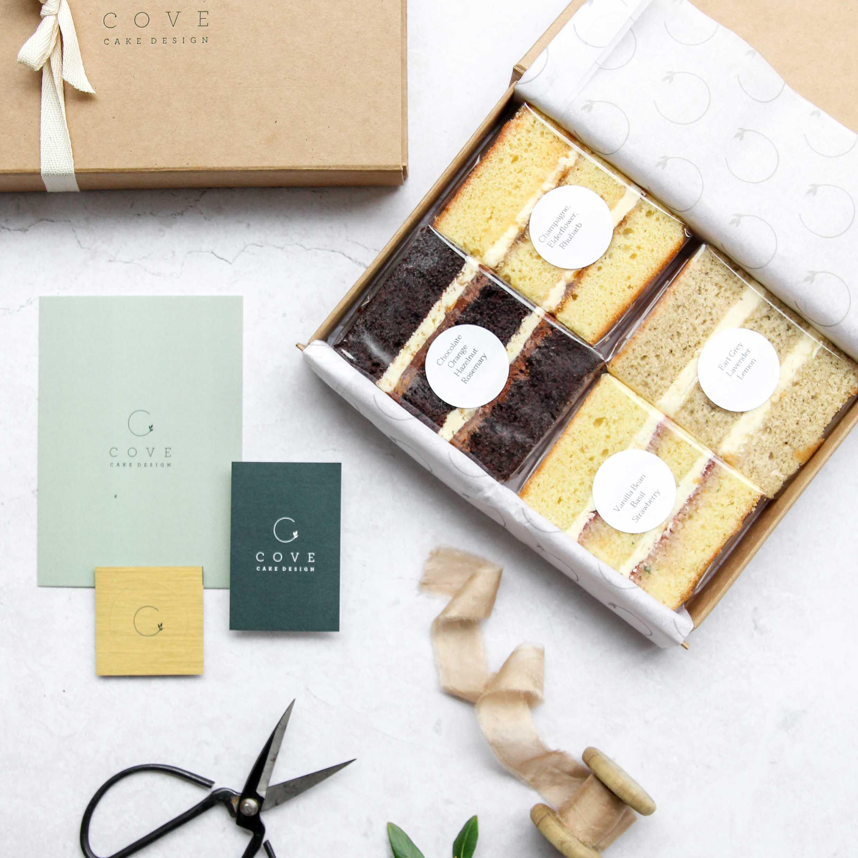 online cake tasting gift box