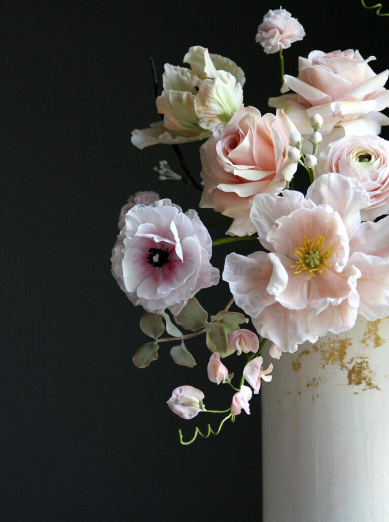 Pretty sugar flowers Cove Cake Design