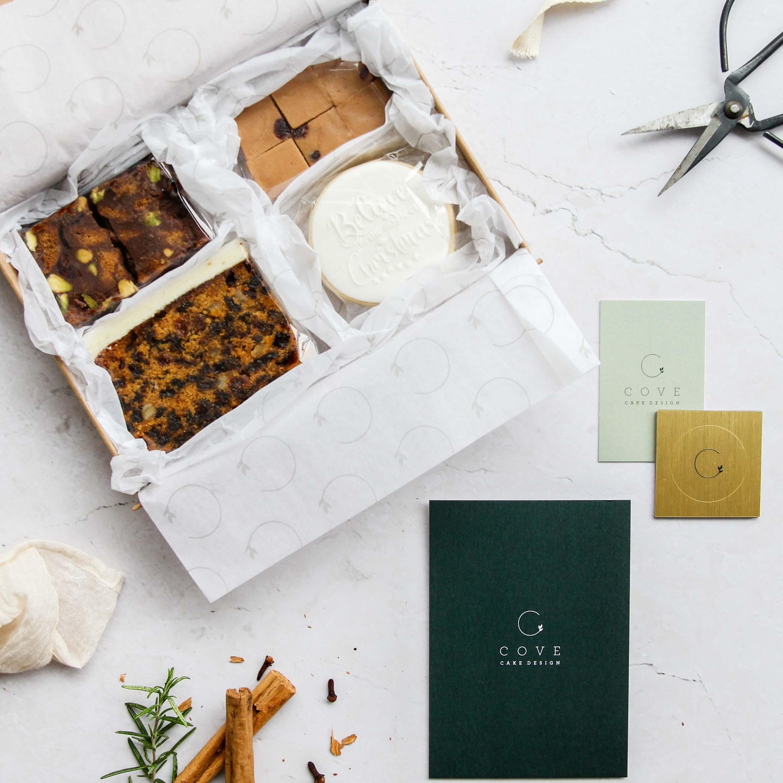 Christmas Cake Postal Gift Boxes Ireland