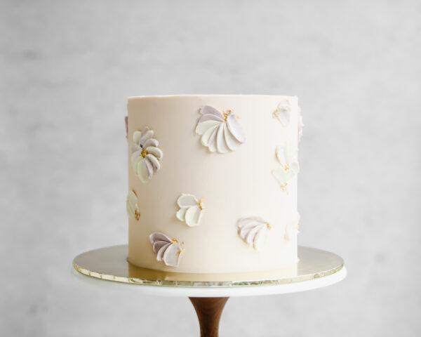 Buttercream Petals Cake Cove Cake Design