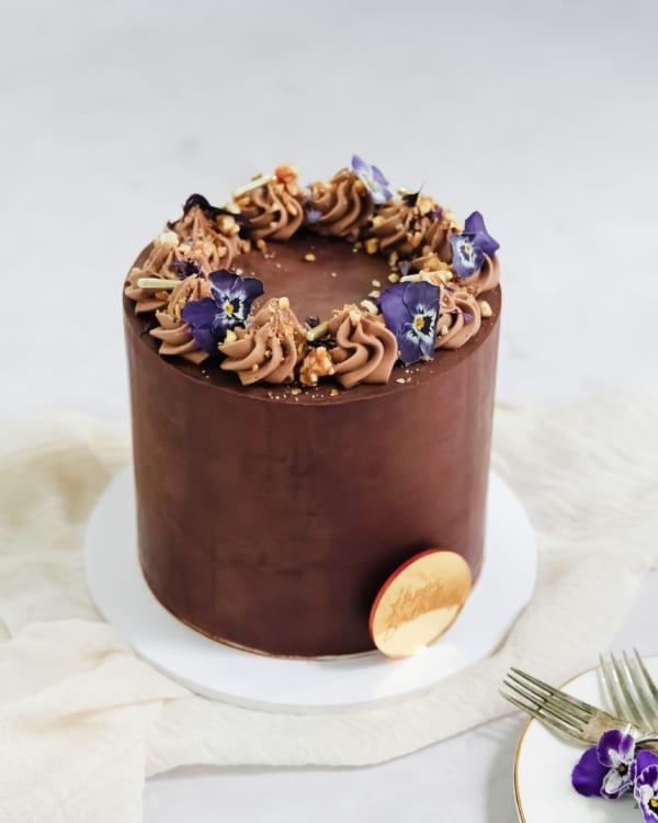 Chocolate Celebration Cake Cove Cake Design
