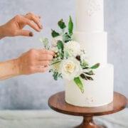 How to arrange sugar flowers Cove Cake Design