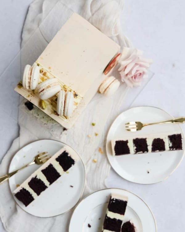 Contemporary Birthday Cake Cove Cake Design
