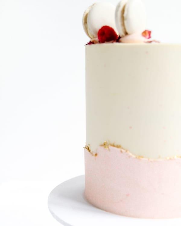 Buttercream Ripple Cake Cove Cake Design