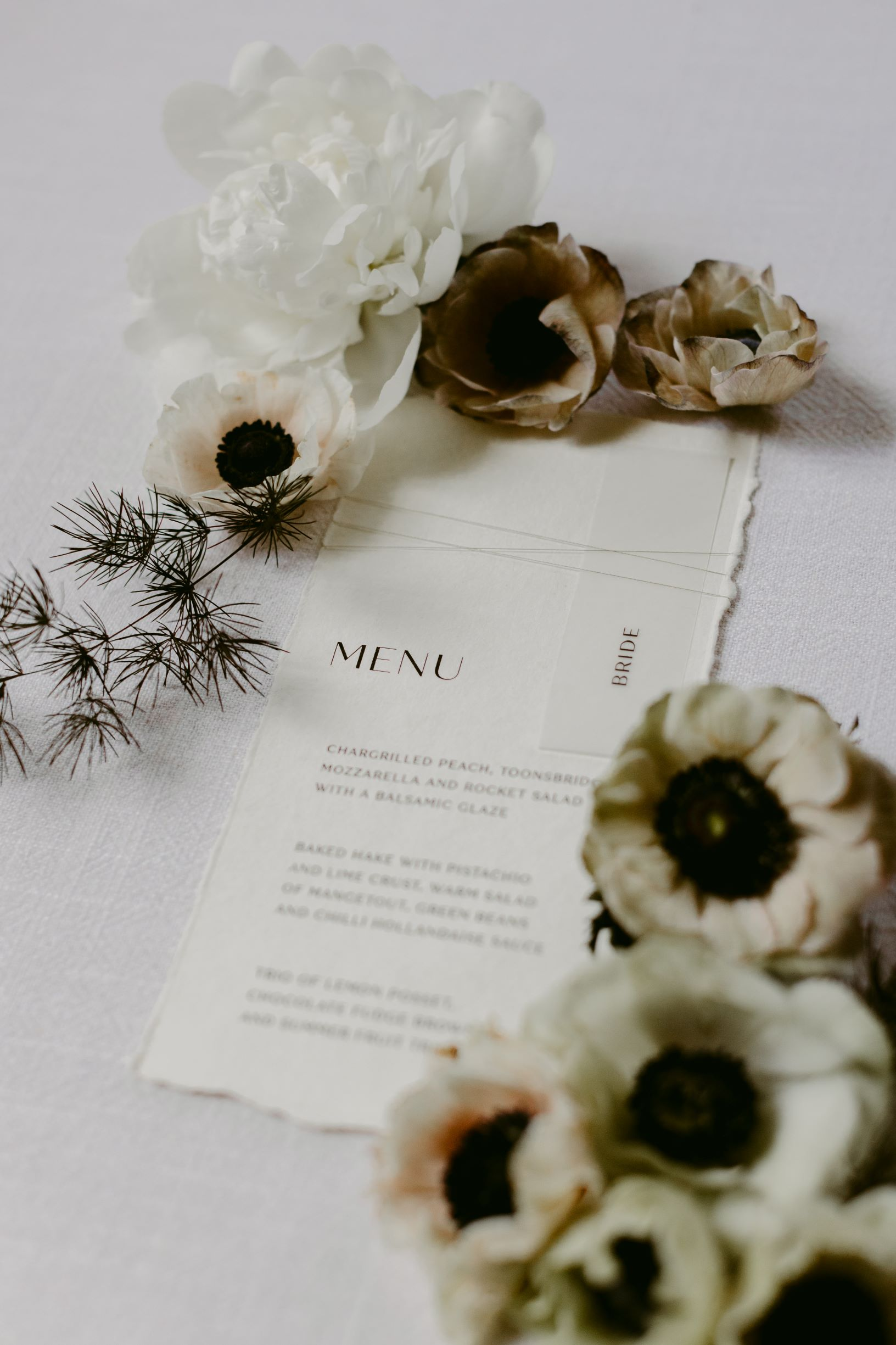 Modern Minimal Wedding Inspiration