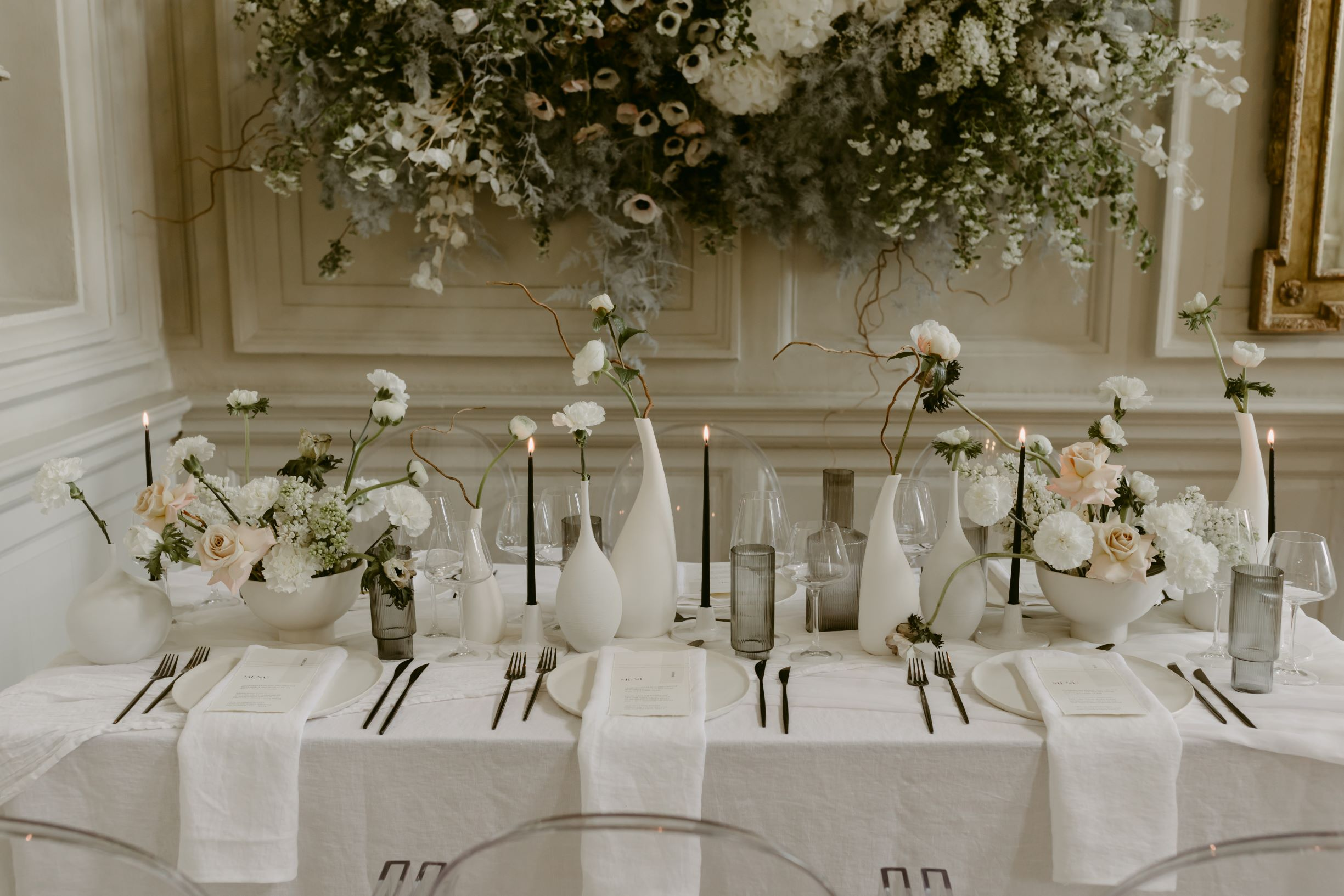 Modern Minimalism Wedding Inspiration