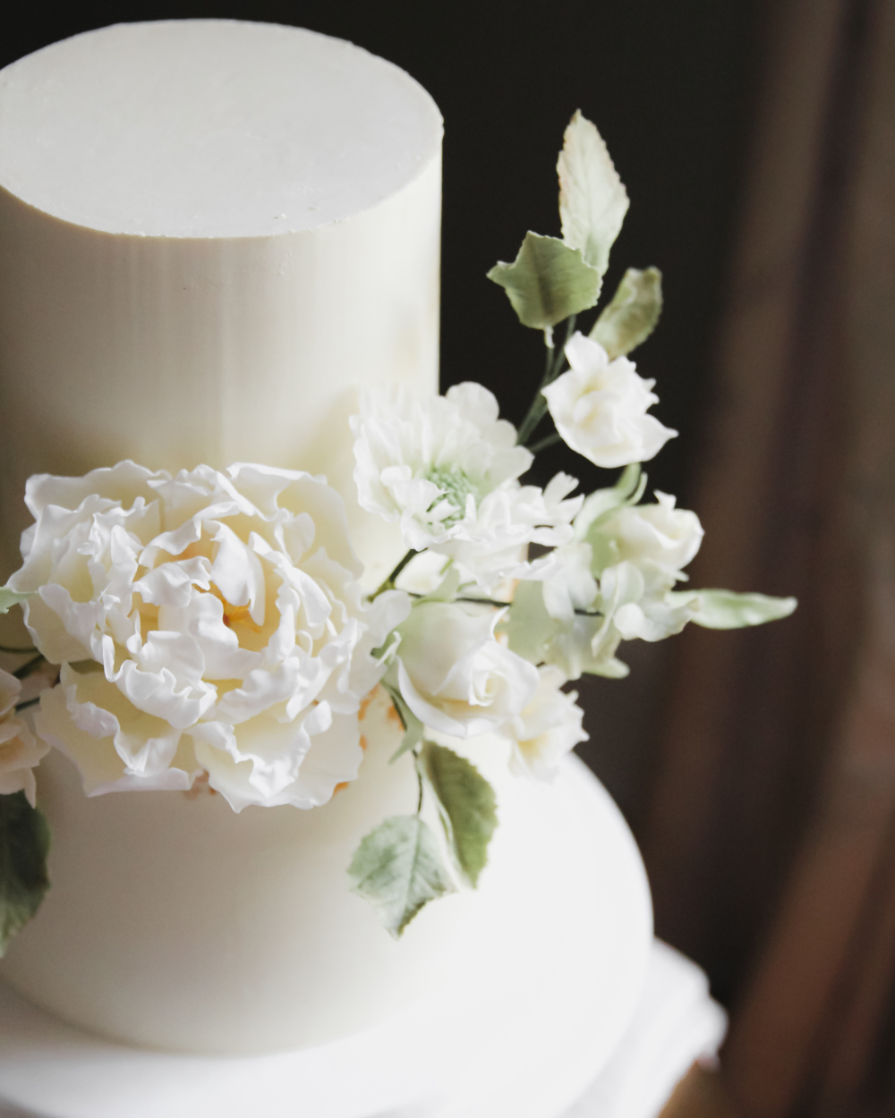 Peony Wedding Cake Cove Cake Design