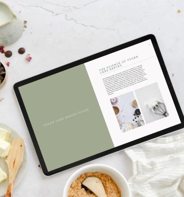 Vegan Layer Cakes Recipe eBook